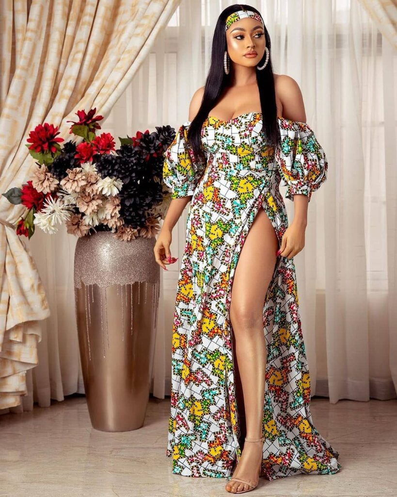 Trendy Ankara Dresses For Ladies In 2021