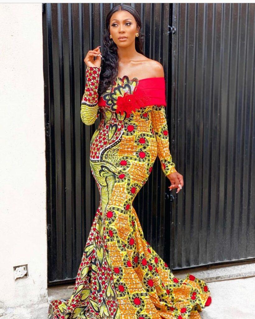 African Long Ankara Styles