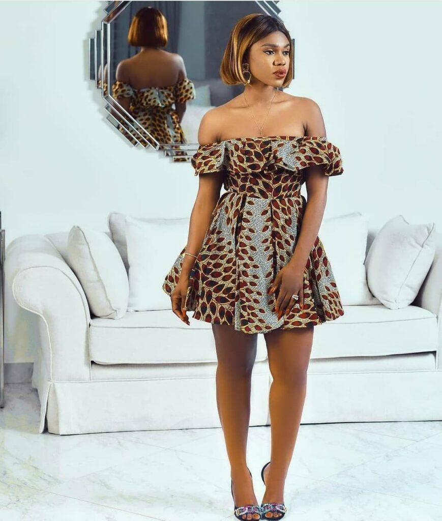 Trendy Ankara Dresses For Ladies