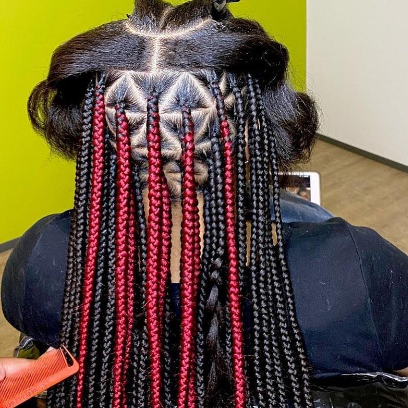 2021 Box Braids Hairstyles