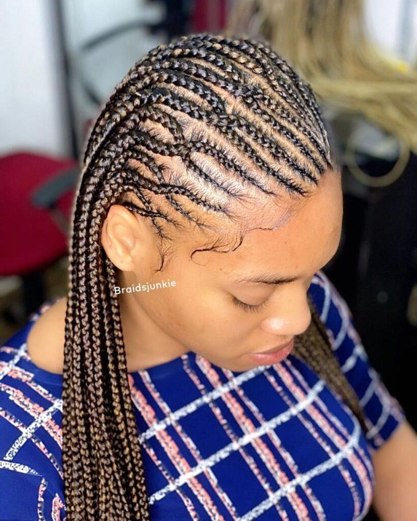 Latest Ghana Weaving Braids Hairstyles In 2021